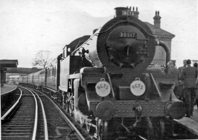 RCTS Victoria - Swindon and return Rail Tour at Chertsey