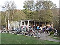 NT2839 : The Hub Cafe, Glentress by Richard Webb