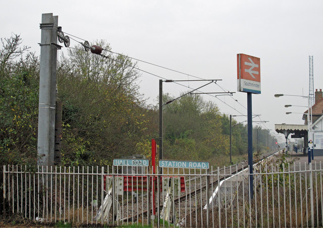 Catenary tensioning weights at the end of the line