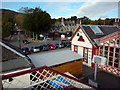 NH8912 : Railway station buildings and the Cairngorm Hotel, Aviemore by Phil Champion