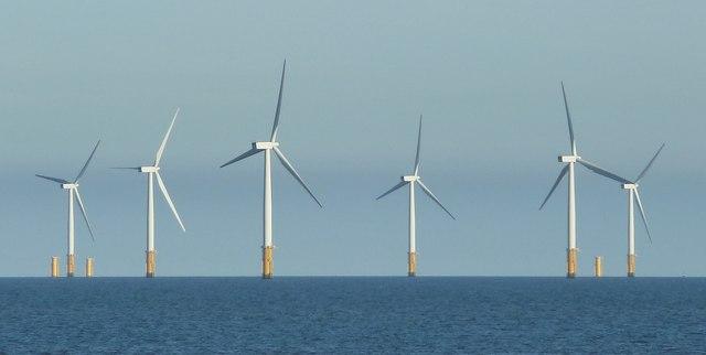 Offshore windfarm, Skegness