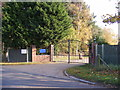 TG1818 : The entrance to Norfolk Pet Crematorium by Adrian Cable