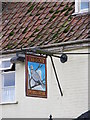 TG2800 : The Dove Public House Sign by Adrian Cable