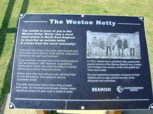 Westoe Netty Plaque