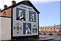 J3272 : Football mural, Belfast (6) by Albert Bridge
