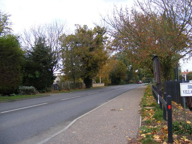 B1332 Norwich Road, Brooke