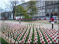 NT2573 : Garden of Remembrance 2011, Princes Street by kim traynor