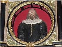 SK7953 : Memorial to Thomas Atkinson, St Mary Magdalene church, Newark by J.Hannan-Briggs