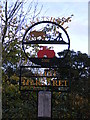 TM3485 : Ilketshall St.Margaret Village sign by Adrian Cable