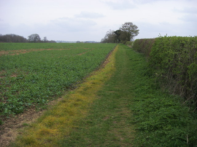Footpath to Shipston Slade