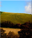 ST6601 : The Giant, Cerne Abbas by John H Darch
