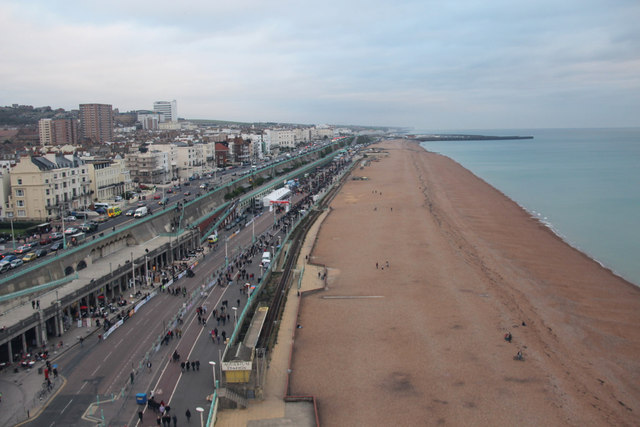 Brighton Beach from above