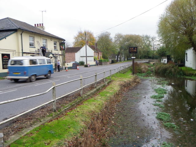 River Ebble and A354, Coombe Bissett (3/4)