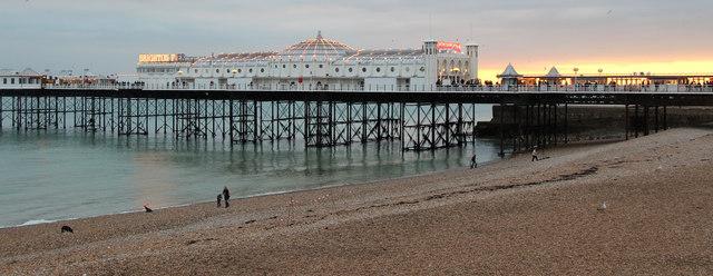 Brighton Beach, East Sussex