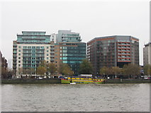 TQ3078 : Buildings on the Albert Embankment by Gareth James