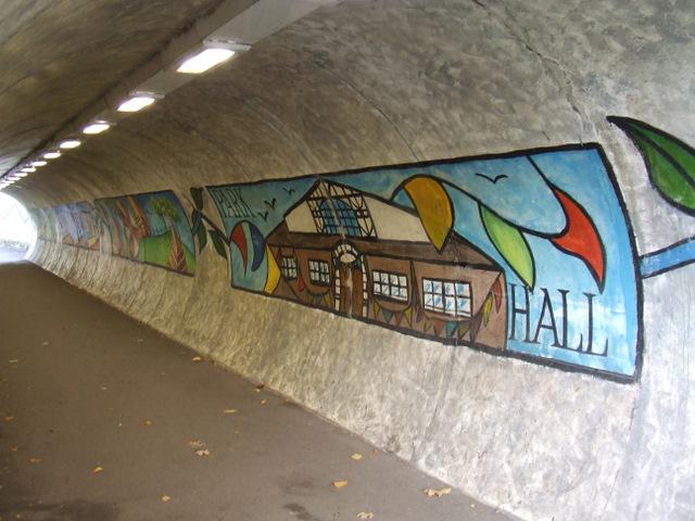 Station Road underpass murals