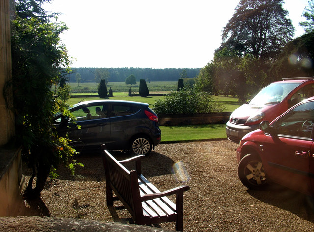 View from corridor end, Culford School