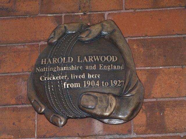 Harold Larwood's home