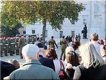 TQ2879 : Remembrance Sunday at The Royal Artillery Memorial, Hyde Park Corner by PAUL FARMER