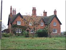 SK7665 : Grange Farm Cottages by JThomas