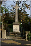 SZ5881 : War Memorial, Shanklin, Isle of Wight by Peter Trimming