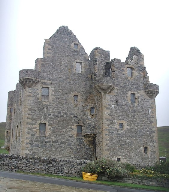 Scalloway Castle - view from the West