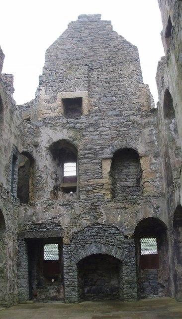 Scalloway Castle - Interior