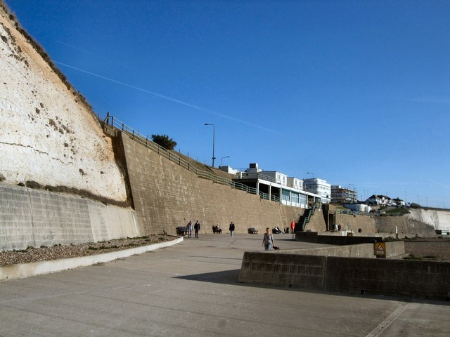 Undercliff Walk - Saltdean by Paul Gillett