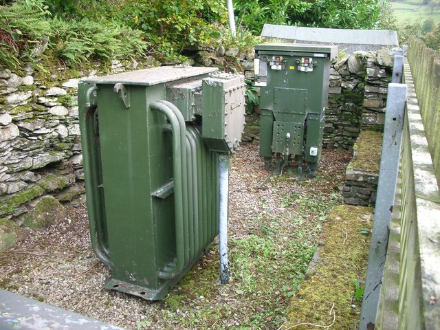 Open Air Substation In Troutbeck Village 169 Starkderrick
