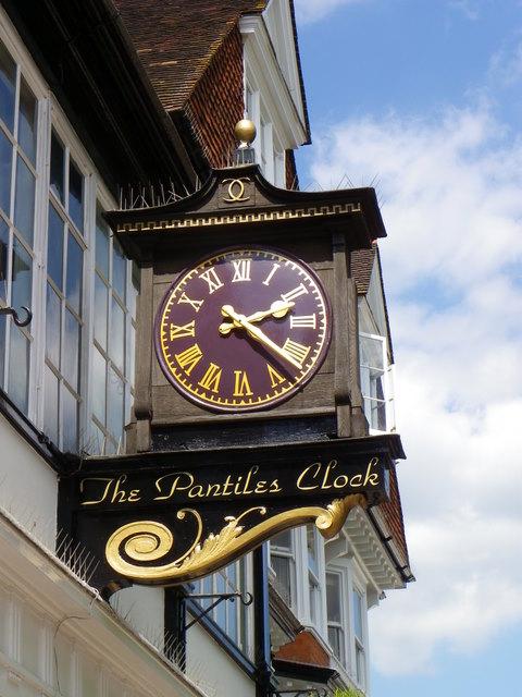 Clock, Tunbridge Wells