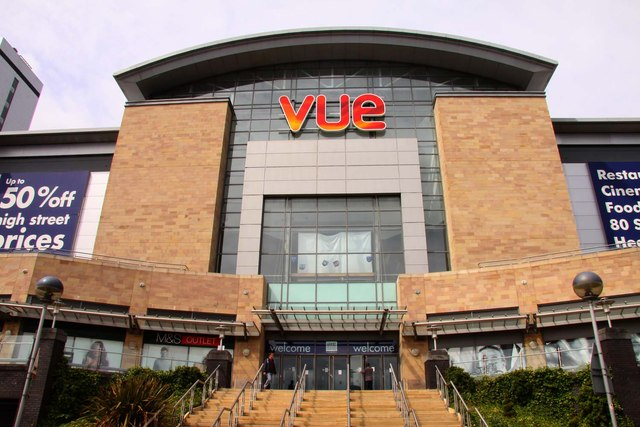 Vue cinema at the Lowry Outlet Mall