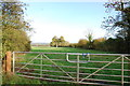 SJ9129 : Across Fields North-East wards from Enson Lane by Mick Malpass