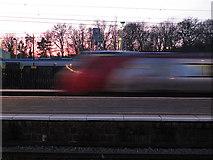 SP8633 : Speeding through Bletchley by Stephen Craven