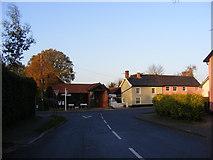 TM2373 : Wilby Road,  Stradbroke by Adrian Cable