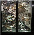 SP5106 : Snow shoes, skis & skates, Pitt Rivers Museum by David Hawgood