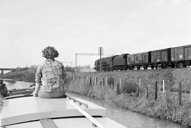 Canal and railway, 1962