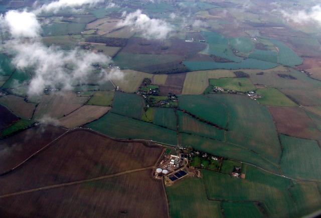 Buttermilk Farm from the air