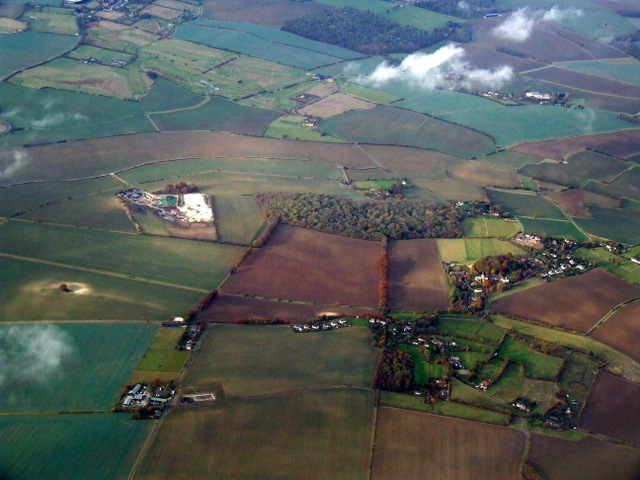 Anstey from the air