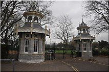 SX9063 : Torquay : Torre Abbey Park Entrance by Lewis Clarke