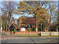 SJ9395 : St Anne's Church and Lychgate by David Dixon