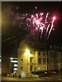 TQ8109 : Fireworks over Devonshire Road by Oast House Archive