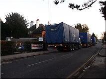 TQ3060 : Lorries on Old Lodge Lane by David Anstiss