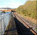 SS8591 : Red buffers at the NW end of the Maesteg Line by Jaggery