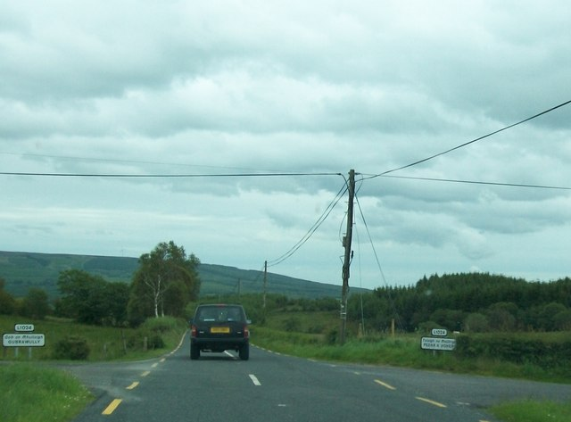The R200 at the Gubrawully Cross Roads
