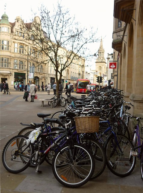 Bicycles at Carfax
