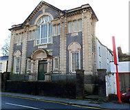 SS8591 : Former Tabor church, Maesteg by Jaggery