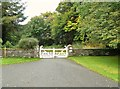 NX1044 : The entrance to Logan House Gardens by Ann Cook