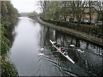 SK5803 : Leicester-Grand Union Canal by Ian Rob