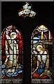TQ3687 : St Saviour, Markhouse Road, Walthamstow - Stained glass window by John Salmon
