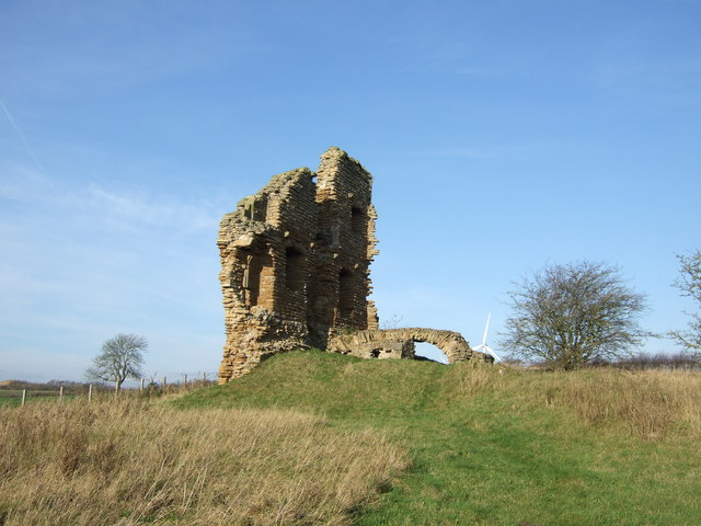 Another view of Ludworth Tower